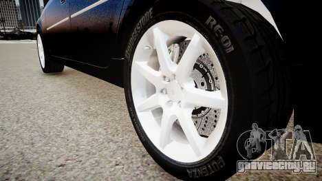 Cadillac CTS v2.1 для GTA 4 вид сзади