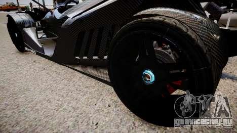 KTM X-Bow (GRID 2) для GTA 4 вид сзади