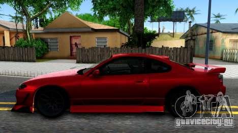 Nissan Silvia S15 BN-Sports для GTA San Andreas вид слева