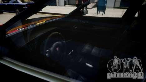 хХх Taxi для GTA 4 вид изнутри