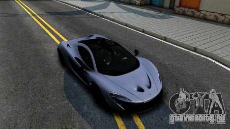 McLaren P1 для GTA San Andreas вид справа