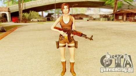 Rise of the Tomb Raider - Lara Underworld для GTA San Andreas