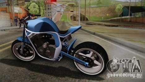 GTA 5 Shitzu Defiler для GTA San Andreas вид слева