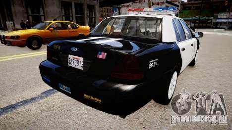 Ford Crown Victoria LAPD для GTA 4