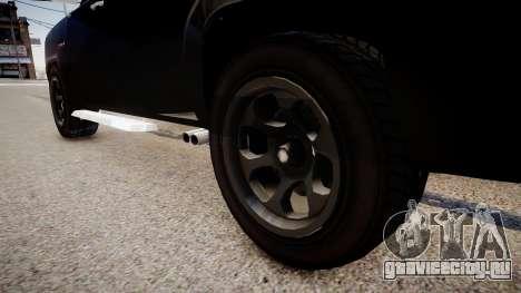 Bobcat Chevrolet для GTA 4 вид сзади