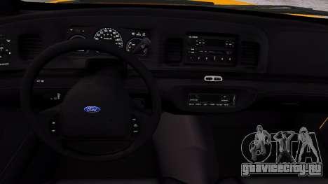 Taxi Nyc для GTA 4 вид изнутри