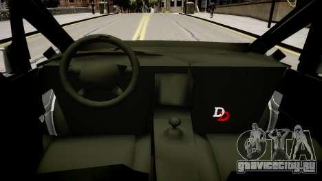 Metropolitan Police 2002 IRV для GTA 4 вид изнутри