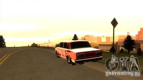 ВАЗ-2107 для GTA San Andreas вид слева