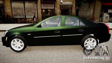 Cadillac CTS v2.1 для GTA 4 вид слева
