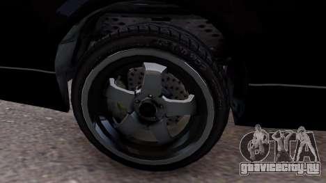 GTA V Intruder 2x для GTA 4 вид сзади