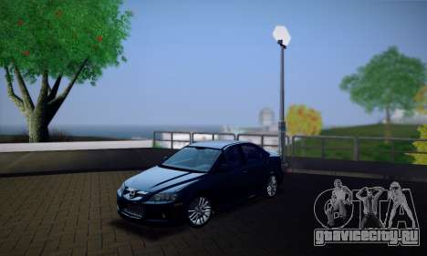 Mazda 6 MPS для GTA San Andreas двигатель