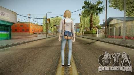 Life Is Strange - Max Caulfield Red Shirt v1 для GTA San Andreas