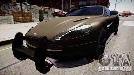 Aston Martin Police для GTA 4 вид справа