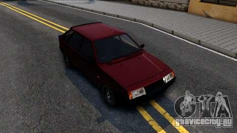 ВАЗ-21096 для GTA San Andreas вид справа