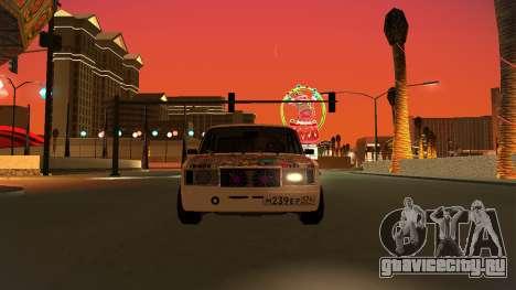 ВАЗ 2107 - Белок [v1.0] для GTA San Andreas вид справа