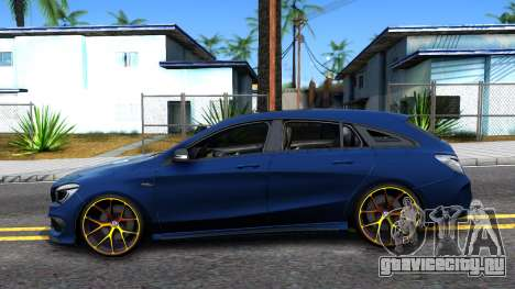 Mercedes-Benz CLA 45 AMG Shooting Brakes Boss для GTA San Andreas вид слева