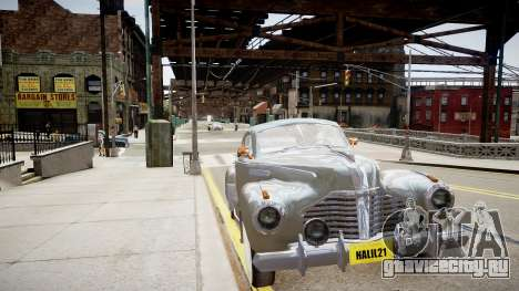 Buick Coupe 1941 для GTA 4 вид справа