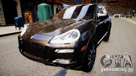 Porsche Cayenne Turbo S 2009 для GTA 4 вид справа