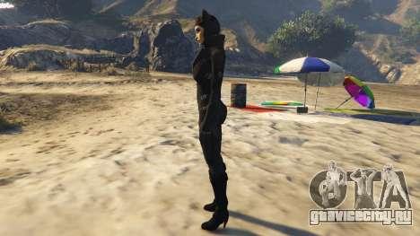 Catwoman для GTA 5 второй скриншот