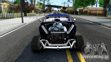 FNF8 Hermes V2.0 для GTA San Andreas вид изнутри