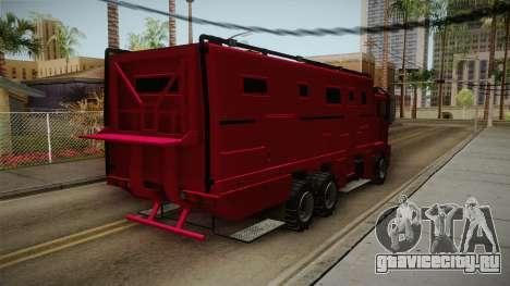 GTA 5 HVY Brickade для GTA San Andreas