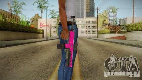 GTA 5 Combat PDW Pink для GTA San Andreas третий скриншот