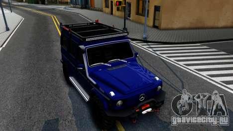 Mercedes-Benz G300 Professional для GTA San Andreas вид справа