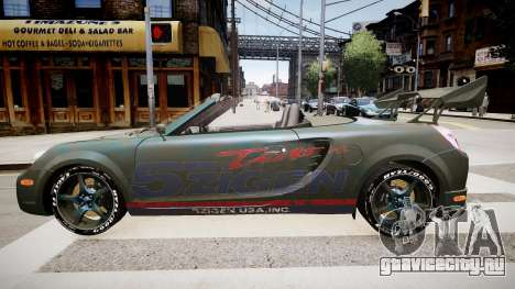 Toyota MRS2 для GTA 4 вид слева