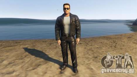 Arnold Terminator 2 Judgment Day для GTA 5