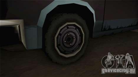 Bobcat XL для GTA San Andreas вид сзади