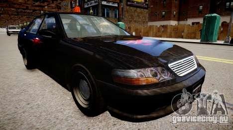 хХх Taxi для GTA 4 вид справа