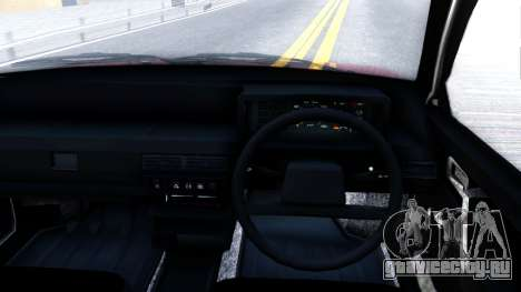 ВАЗ-21096 для GTA San Andreas вид изнутри