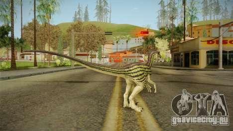 Primal Carnage Velociraptor Ivy Striped для GTA San Andreas третий скриншот