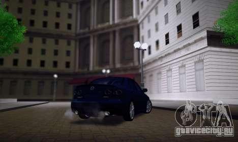 Mazda 6 MPS для GTA San Andreas салон