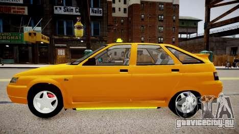 ВАЗ 2112 Такси для GTA 4 вид слева