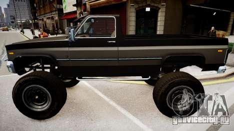 Rancher V3 для GTA 4 вид справа