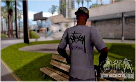 Футболка Stussy для GTA San Andreas второй скриншот