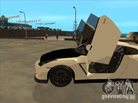 Nissan GT-R Drift JDM для GTA San Andreas вид сбоку