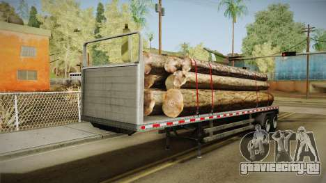 GTA 5 Log Trailer v1 для GTA San Andreas
