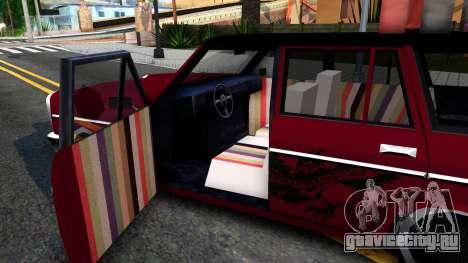 LOW Peren With Lagguage для GTA San Andreas вид изнутри
