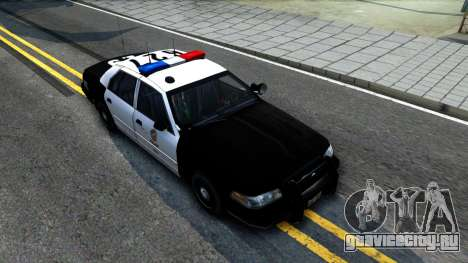 Ford Crown Victoria Police для GTA San Andreas вид справа