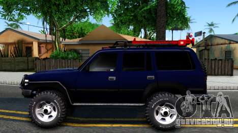 Toyota Land Cruiser 80 для GTA San Andreas вид слева