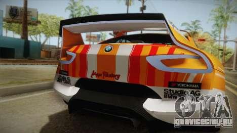 BMW CSL Hommage R 2015 GSR Project Mirai для GTA San Andreas вид изнутри