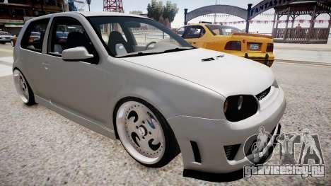 Volkswagen Golf EA v.2 для GTA 4 вид справа