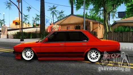 BMW E28 M5 для GTA San Andreas вид слева