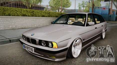 BMW 5 series E34 Touring для GTA San Andreas