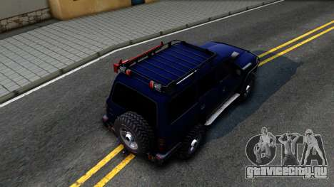 Toyota Land Cruiser 80 для GTA San Andreas вид сзади