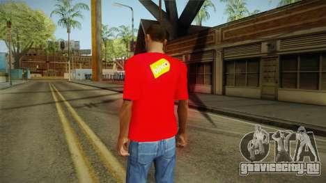 Футболка с Оленем для GTA San Andreas второй скриншот
