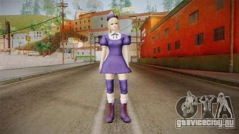 DoA 5 Marie Rose KOF DLC - Hinako Outfit для GTA San Andreas