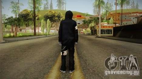 Eyeless Jack Skin для GTA San Andreas третий скриншот
